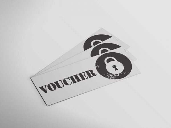 Photo of vouchers